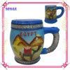 陶磁器のエジプトSouvenir Mug、Promotion GiftのためのCeramic Shot Cup