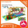 Новейшие смешные дети Naughty Форт крытый детская площадка устанавливает