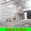 Конструкция стойки DIY торговой выставки конструкции будочки выставки