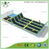OEM lit Grand trampoline de gymnastique de plein air