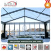 Liriのガラス壁が付いている標準的で明確な結婚式のテント