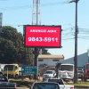 Afficheur LED imperméable à l'eau extérieur de l'IMMERSION P10 pour la publicité