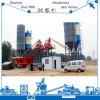 Tipo excelente planta de tratamento por lotes concreta do funil do projeto de construção do desempenho de Hzs75 rapidamente