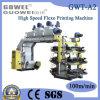 Máquina de impresión Flexo de alta velocidad de seis colores (GWT-A2)
