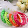 女の子2.5mm Rubber Elastic Rope Ring Seamless Hairbands (JE1519)