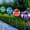 lampada esterna di galleggiamento solare del percorso del giardino della luce dello stagno di 3-in-1 7-Color-Changing LED