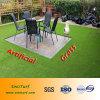 4 CORES U. V. resistência PE relva artificial (EMC-TW) para o Plástico Verde Jardim Fake relva sintética