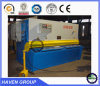 Máquina hidráulica QC12K-20X4000 do feixe do balanço do CNC do corte e de estaca