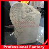 새겨진 천사 기념물 대리석 묘석 묘비