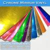 Etiqueta engomada libre del cromo del vinilo del espejo del cromo del aire estirable del 100%