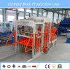 Блок делая машину в строительном материале делая машину