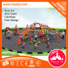 Sale를 위한 직업적인 Outdoor Swing Set Kids Climbing Wall