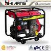 Luftgekühlter geöffneter Rahmen-Typ Dieselgenerator-Rückzug-Anfang (DG8000)