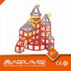Berühmte Magplayer magnetische Gebäude-Set-und Verbinder-Spielwaren für Vortraining und Schule