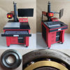 Отметка лазера волокна, машина маркировки лазера металла