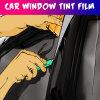 Популярная продавая пленка подкраской окна гловального автомобиля солнечная сделанная из первоначально материала любимчика цвета