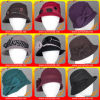 Unterschiedliche Art-Form und luxuriöse Australien-Wollen geglaubte eindeutige Hüte 100% für Ladys&Women Winter