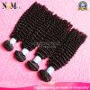 自然な未加工バージンのインドの毛の卸売のRemyの人間の毛髪の織り方