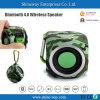 Openlucht Bluetooth 4.0 Draadloze Spreker met Ingebouwde Navulbare Batterij 300mAh