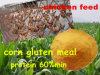 Питание клейковины мозоли для протеина 60%P питания цыпленка