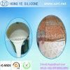 Composé de caoutchouc de silicone liquide pour la fabrication de moules de pierre de béton