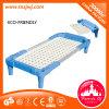 Muebles modernos de plástico apilables camas para niños para la escuela