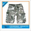 Shorts da carga do algodão dos homens da impressão camuflar