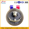 Medaglie di bronzo d'argento dell'oro per le primo secondo terze