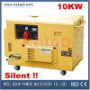 10kw 3-Phase Silent Diesel Generator Set (10kVA) Hot Sale!