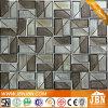 Baño de plata caliente de fundición de vidrio mosaico de pared y el suelo (H638001)