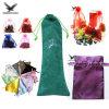 Impresso personalizado Cordão Saco Organza pequenas jóias de veludo Promocional Embalagem Dom acetinado luxuoso estojo sacos de jóias