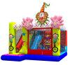 De opblaasbare Opblaasbare Uitsmijter van het Kasteel van de Clown Combo Springende