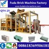 Macchina media del blocco in calcestruzzo della macchina automatica del blocchetto del PLC di Afraic