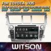 Toyota Vios에서 Witson Windows 차 다중 매체 DVD 플레이어