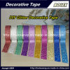Multifunción DIY Glitter Glitter cinta cinta adhesiva 1,5cm*3m/Rollo, 10 colores/Set