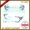 Gestaltet neuer konzipierter transparenter Plastik des Muster-R1461 Anzeigen-Gläser