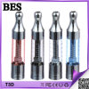 Dual Bottom Coil Stock Offer를 가진 2014 최고 Selling T3d Clearomizer
