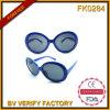 Fk0284 vendent en gros dans des lunettes de soleil polarisées de plot réflectorisé de la Chine