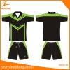 Conjunto sublimado material del desgaste de las camisas de Jersey del fútbol de la impresión del Spandex de Healong