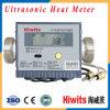 世帯の使用のための高度の流れセンサーが付いている熱い超音波熱メートル