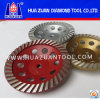 Diamant Grinding Cup Wheel avec Aluminum Base