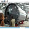 Reciclagem de Pneus de 10 ton de máquinas de pirólise recebendo óleo dos pneus