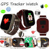 Цветастый вахта отслежывателя GPS монитора тарифа сердца экрана касания (D28)