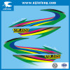 Elektrischer Aufkleber des Fahrrad-Vinyl-Soem-Bildschirm-Drucken-Motorrad-ATV