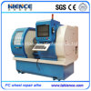 CNC van de Fabriek van lage Kosten de Draaibank Awr2840PC van de Reparatie van het Wiel van de Scherpe Machine van de Draaibank van het Wiel