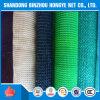 Weißes blaues Grün-Schwarzes 100% neues HDPE Sun-Farbton-Netz (Hersteller)