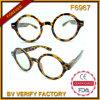 Rétro Vitage Occhiali lunettes de soleil faites sur commande Shaped rondes de F6967