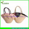 Wheat decente Straw Handbag para Girls