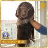 100%년 Peruvian를 가진 높은 Quality Lace Frontal Wig Virgin Human Hair (W-006)