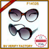 F14028 Cat3 UV400 True Color Cat Eye Lunettes de soleil